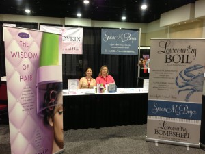 SC Book Festival Booth